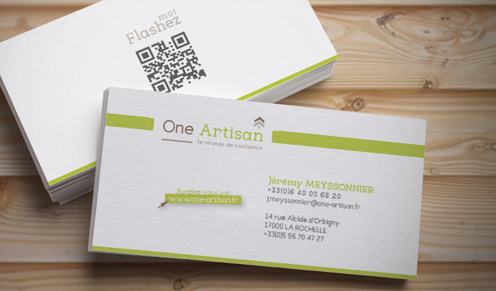Carte De Visite One Artisan