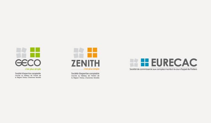 logos Cabinets GECO, ZENITH, EURECAC