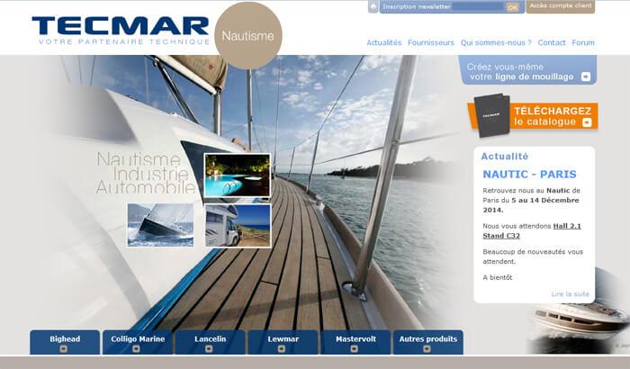 site internet TECMAR
