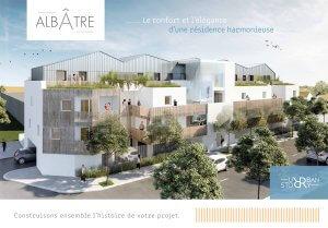 """Plaquette commerciale programme immobilier """"Albâtre"""" - Urban Story Promotion"""