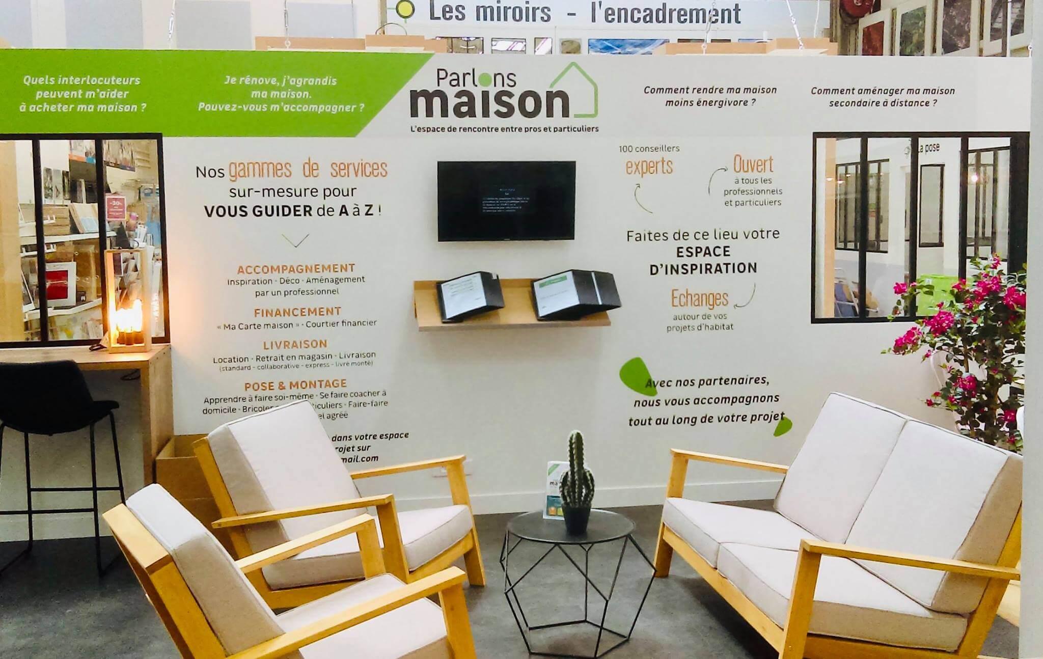 Decoratrice Interieur La Rochelle un nouvel espace chez leroy merlin la rochelle - la petite